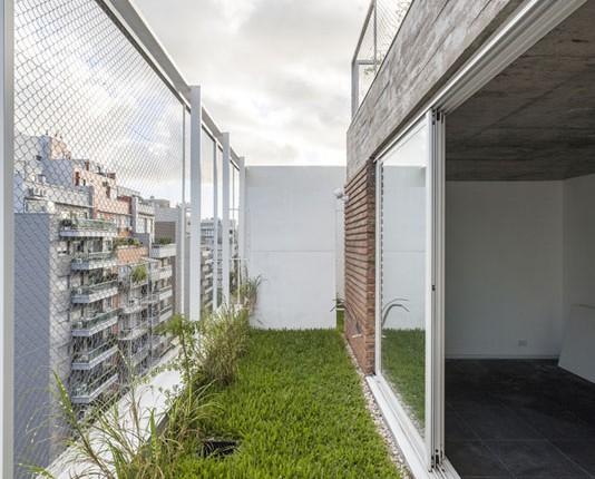 3 amb - vista balcon verde